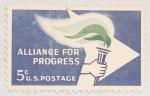 Sellos de America - Estados Unidos -  alliance for progress