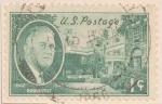 Stamps : America : United_States :  Roosevelt