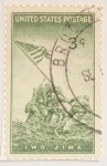 Stamps : America : United_States :  iwo jima