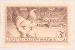 Stamps : America : United_States :  centennial of the american oultry industry