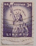 Stamps United States -  liberty