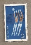 Stamps Bulgaria -  Balónvolea femenino