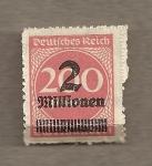 Sellos de Europa - Alemania -  Cifras
