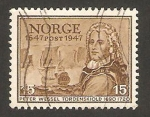 Sellos de Europa - Noruega -  Almirante Tordenskjold