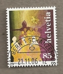 Stamps Switzerland -  Grupo personas