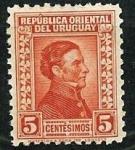 Stamps : America : Uruguay :  General Artigas