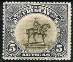 Stamps : America : Uruguay :   Inaguración monumento General Artigas