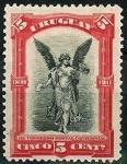 Stamps : America : Uruguay :   1º Cong.postal Sud-Amer