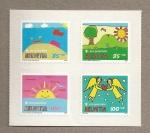 Stamps Switzerland -  Pro Juventute