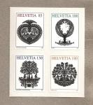 Sellos de Europa - Suiza -  Recorte de papeles para decoración