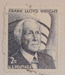 Stamps : America : United_States :  Frank Lloyd Wright