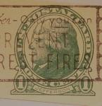 Stamps : America : United_States :  Jefferson