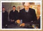 Stamps United Arab Emirates -  AJMAN - Personajes