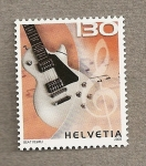 Stamps Europe - Switzerland -  Instrumentos musicales