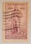 Stamps : America : United_States :  ROGER WILLIAMS