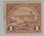 Stamps : America : United_States :  Lincoln Memorial