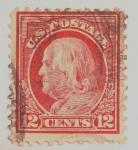 Stamps : America : United_States :  george washington