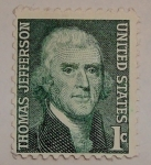 Sellos del Mundo : America : Estados_Unidos : Thomas Jefferson