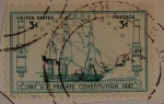 Stamps : America : United_States :  Frigate Constitution