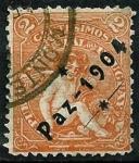 Stamps : America : Uruguay :  Paz