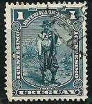 Stamps : America : Uruguay :  Gaucho