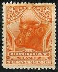 Stamps : America : Uruguay :  Toro