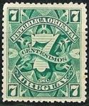 Stamps : America : Uruguay :  Cifra