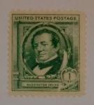 Stamps : America : United_States :  Washington Irving