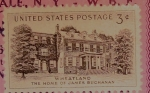 Stamps : America : United_States :  The Home Of JamesBuchanan