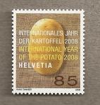 Sellos de Europa - Suiza -  Año internacional de la patata