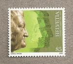 Sellos de Europa - Suiza -  Albrecht von Haller