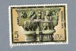 Stamps Spain -  Huida a Egipto (repetido)