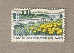 Stamps United States -  Plantarflores para autopìstas más hermosas