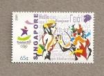 Stamps Asia - Singapore -  Juegos Olímpicos de la Juventud