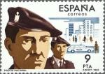 Sellos de Europa - España -  cuerpos de seguridad del estado