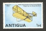 Stamps America - Antigua and Barbuda -  484 - 75 anivº del primer vuelo de los hermanos Wright