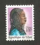 Sellos del Mundo : Africa : Chad : nativa
