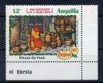 Sellos del Mundo : Europa : Anguila : 100 aniv. de a. a. milnes