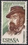 Sellos de Europa - España -  2401  Personajes. Francisco Tárrega.