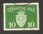 Stamps : Europe : Norway :  Offentlig sak