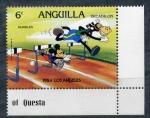 Sellos del Mundo : Europa : Anguila : olimpiadas de los angeles