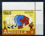 Stamps Anguila -  mundial españa 82