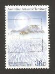 Stamps Oceania - Australian Antarctic Territory -  25 anivº del tratado de la Antártida