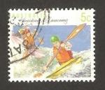 Stamps : Oceania : Australia :  Descenso en canoa