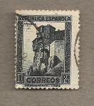 Sellos de Europa - España -  Casas colgantes de Cuenca