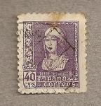 sellos de Europa - España -  Isabel la Católica
