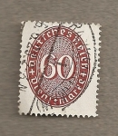 Stamps Germany -  Filigrana y cifras