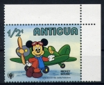 Stamps America - Antigua and Barbuda -  El raton Mickey