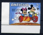 Sellos del Mundo : America : Antigua_y_Barbuda : mickey y minnie