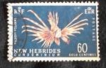 Stamps Oceania - New Hebrides -  pierois volitans